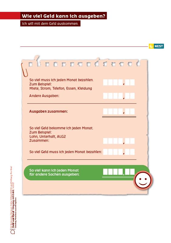 Wie viel Geld kann ich ausgeben?: Nationales Zentrum Frühe Hilfen (NZFH)