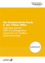 Titelbild der Publikation KOMPAKT Die Kinderärztliche Praxis in den Frühen Hilfen